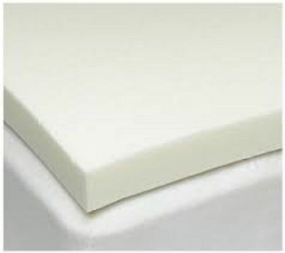 "Luxury 100% Memory Foam Orthopaedic Mattress Topper, All Depths 1"" 2"" 3"" 4"""