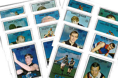 Australian Footballers 1968 - New Collectable Postcard Set # 2