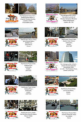 Morecambe & Wise - Then & Now - Film Locations Postcard Set (1)