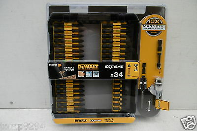 Dewalt Dt70545T Extreme 34Pce Impact Torsion Screwdriver Bit Set