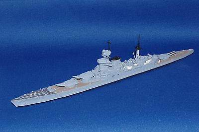 Mountford Gb Projected Battlecruiser 'hms Incomparable' 1/1250 Model Ship
