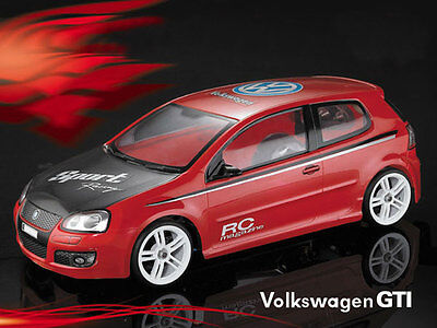 Matrixline Volkswagen Golf GTI MK5 Clear Body Shell 190mm with Accesso #PC201005