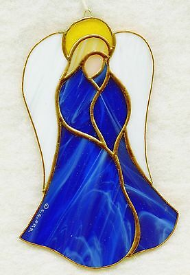 Handmade Stained Glass Angel SUNCATCHER (AF06)