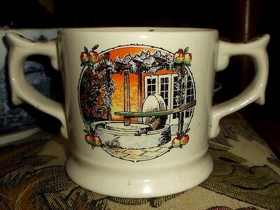 """TAUNTON CIDER"" DOUBLE-HANDLED MUG - LIMITED EDITION by WADE"