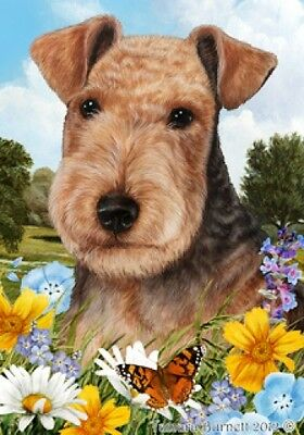 Large Pick 3 Flag Set - Lakeland Terrier
