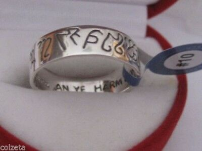 HEXEN RING OF POWER sterlingsilber WITCH, Hexen, do what thy will