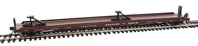 Walthers HO 75' Piggyback Flatcar Trailer-Train #470436 910-5217
