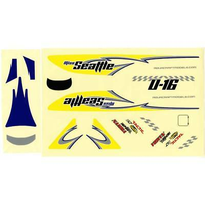 NEW AquaCraft Decal Sheet Miss Seattle Hydroplane AQUB6333