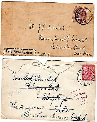 Boer War, Two Covers