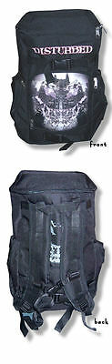 Disturbed- NEW Face Your Fears Back Pack Bookbag SALE FREE SHIPPING TO U.S.!