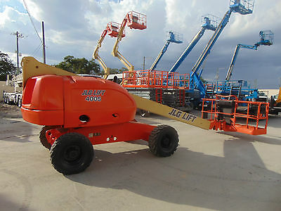 2007 Jlg 400S 40 Ft Straight Boom 4X4 Diesel 40 Ft Basket Man Lift