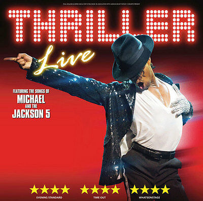 THRILLER Ticket and Meal Package SPECIAL OFFER with a TOP PRICED SEAT
