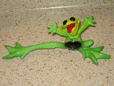 "Kitty's Critters FREEDOM FROG Lights Up ""BE HAPPY!~Kittys 2005 RARE Discontinued"