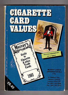 Murray's 1993 Guide To Cigarette & Other Trade Cards !!