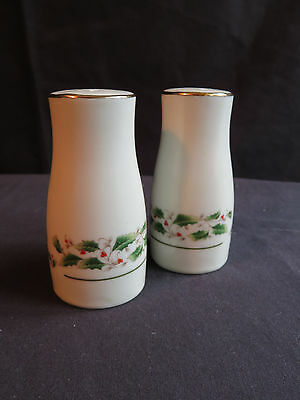 Holly Fine China - Salt and Pepper Set - Made in Japan