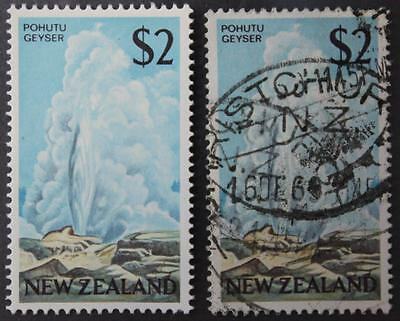 New Zealand #404, 1 x MLH & 1 x Used, High Values