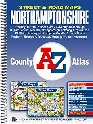 Northamptonshire County Atlas (A-Z Co by Geographers' A-Z Map Company 184348692X