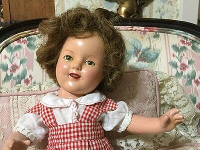 Ideal Shirley Temple 1934 Rare 17""