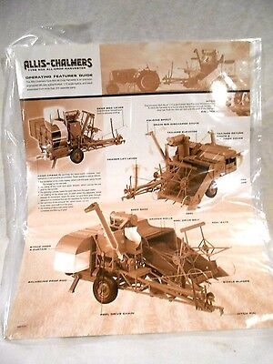 Franklin Mint Allis Chalmers Type 60A Crop Combine Harvester MIB