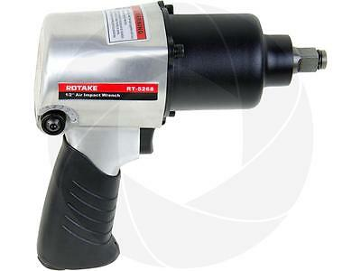 "1/2"" Drive Air Pneumatic Impact Wrench Gun Adjustable F/R 500ft-lb Heavy Duty"