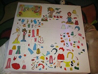 COLORFORMS Pieces and Parts, Sesame St. Barbie Diana Carol Liddle Kiddles & More
