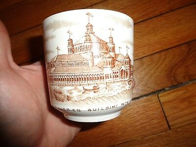 Fisheries Building Columbian Exposition Chicago 1893 World's Far Cup Mug
