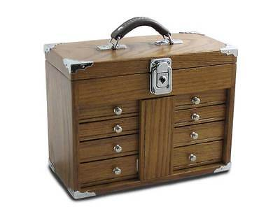 GI-509 Oak & Veneer Mini-Max Chest by Gerstner International Authorized Dealer