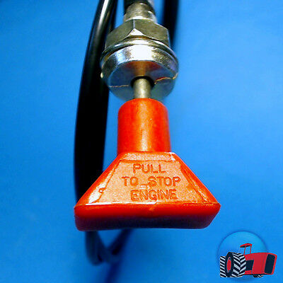 SCB3501 Stop Stopper Cable Ford 2000 3000 4000 5000 Tractor & 2610 3610 4610