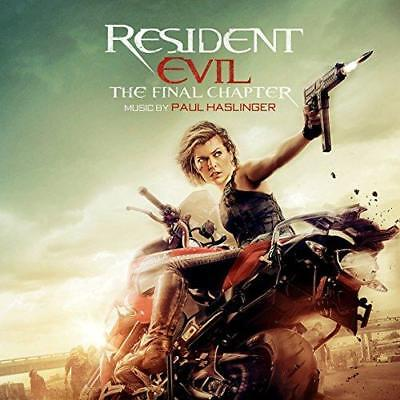 Resident Evil: The Final Chapter (Original Motion Picture Soundtrack) - (NEW CD)