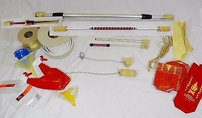Large amount of New Fire Juggling / Eating Equipment - Staffs, Poi, Torch Sticks