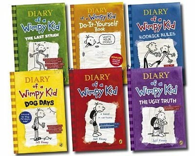 Diary of a Wimpy Kid Collection 6 Books Set (Wimpy Kid) | Jeff Kinney
