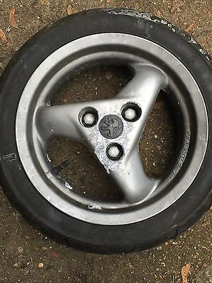 Peugeot Speedfight 100 2000 Front Wheel And Tyre