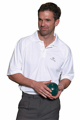 new 2017 THOMAS TAYLOR GENTS BUTE SPORTS POLO T- SHIRT COLLAR WHITE