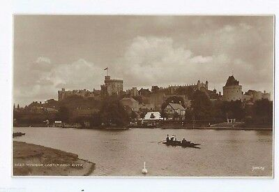 Postcard Windsor Castle from River Thames RP Maidenhead