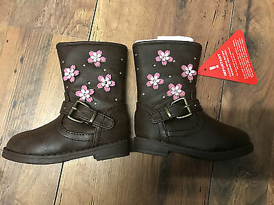 Girls brown Boots Size 4 childs, Brand New. Winter - 99p