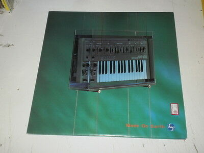 MADE ON EARTH - 3 LP Blue Room Released MADE IN UK 1994 - GOA/TRANCE - M-/VG++