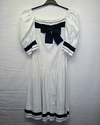 Quality Sound of Music Style Sailor  Dress for Stage / Theatre or Fancy Dress