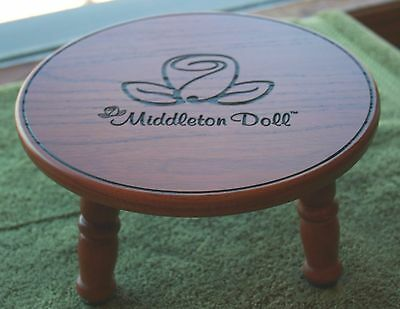 Middleton Doll Stool,new In Box Stands 4 Inches Perfect For Your Favorite Doll