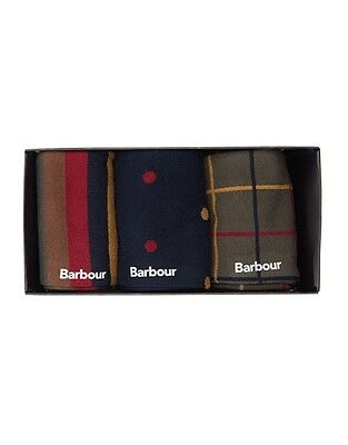 Barbour Classic Tartan Collection Socks Gift Boxed Medium / Standard