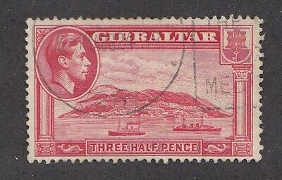 1940 Sg123a 1.5d Carmine  perf 13.5 FINE USED  example cat £30