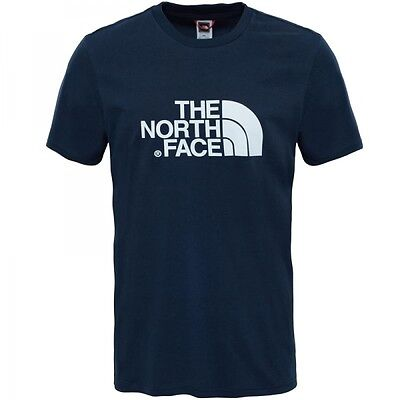 The North Face Easy Tee Herren Kurzarm T-Shirt urbnnavy/tnfwht