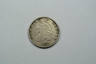 Very Fine 1835 Capped Bust Dime, VF Condition - C2648