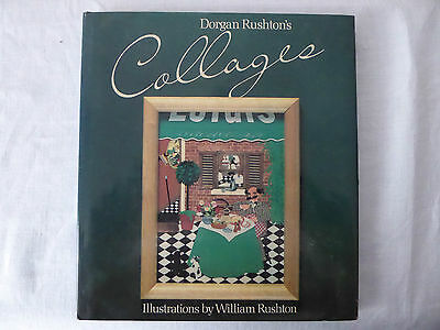 Vintage  Craft  Book - COLLAGEs.   by  Dorgan Rushton.   1984