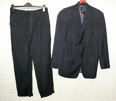 1940s Pin Stripe Demob Style Suit for  Stage / Theatre / Reenactment - Medium