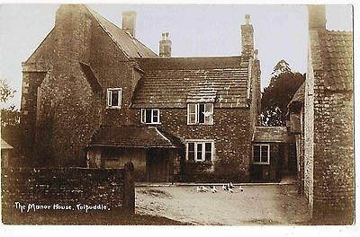 DORSET - RPPC - THE TOLPUDDLE MANOR HOUSE, TOLPUDDLE, 1930s