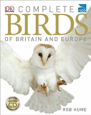 RSPB Complete Birds of Britain and Europe New Hardcover Book Rob Hume