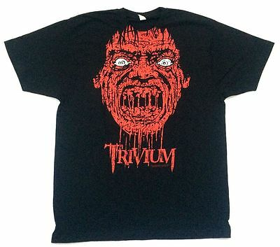 Trivium Bloody Mouth USA Tour 2009 Black T Shirt New Official Soft