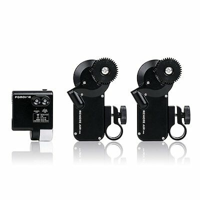 PDMOVIE Remote Live II Fingerwheel Controller Follow Focus Kit (Dual Channel) UK
