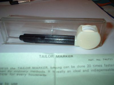 K-Tel international Tailor marker boxed with instructions