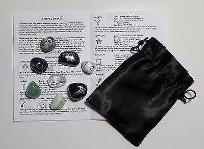 Witches Oracle Stones Choose Your Own Set Wicca Pagan Runes Fortune Telling